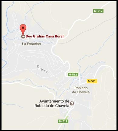 Mapa Casa Rural Deo