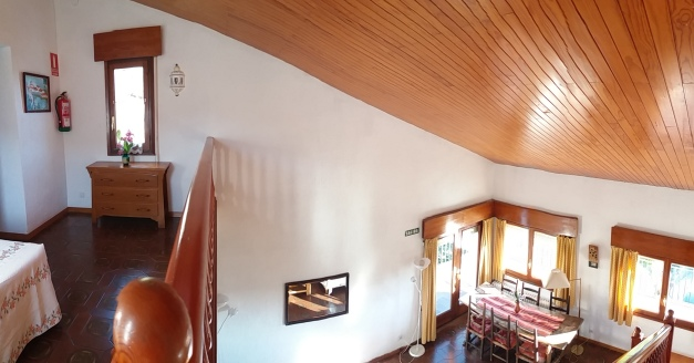 Panorámica desde arriba salón