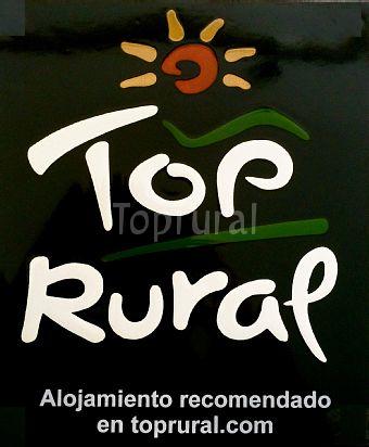 TOP RURAL placa de Deo Gratias Casa Rural nueva placa.png