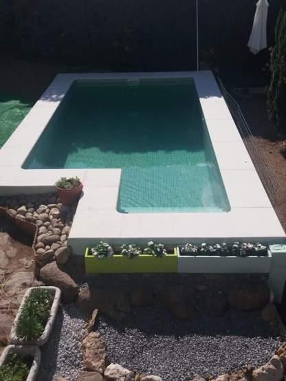 También tendrás acceso a la piscina de sal de nuestro alojamiento