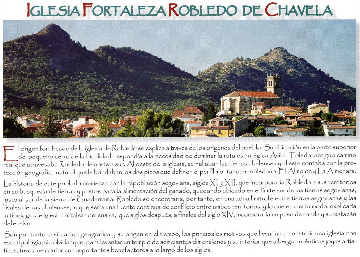 Iglesia fortaleza de Robledo de Chavela